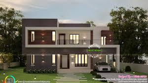 4 bedroom flat roof contemporary 2300 sq ft kerala home design