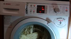 bosch logixx washing machine time delay delay end feature youtube