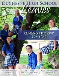 leaves autumn 2014 issue by duchesne high issuu