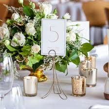 brass table number holders brass table number holders