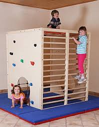 klettergerüst indoor kinderzimmer what could be better than caging the children child bed