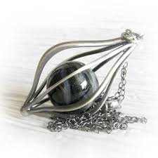cremation necklaces envelop glass cremation ashes jewelry marble sterling silver cage