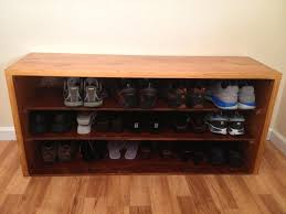 Storage Bench With Shoe Rack Bench Shoe Fitting Bench Home Design Modern Shoe Storage Bench