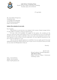 Easy Cover Letter Samples Application Letter Format Example
