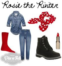 Rosie Riveter Halloween Costume Diy 25 Rosie Riviter Ideas Rosie Riveter