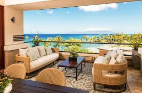 wall mounted patio table hawaii outdoor covered patios deck tropical with patio furniture