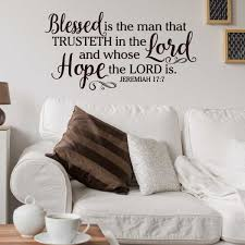 jeremiah 17 7 blessed is the man who trusteth in the lord wall jeremiah