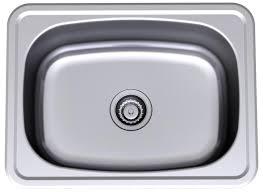 Masters Kitchen Sinks Clark Stainless Steel Single 45 Litre Flushline Laundry Tub