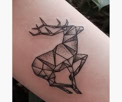 15 geometric animal tattoos