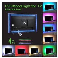 smylls led multi color tv backlights kit home movie theater