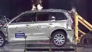 volvo minivan volvo xc90 rear end crash test youtube