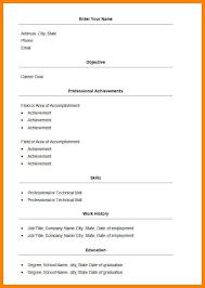 achievement resume template achievement resume format for big
