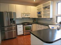Laminate Kitchen Cabinet Makeover by Kitchen The Best Paint For Kitchen Cabinets Refinishing Oak