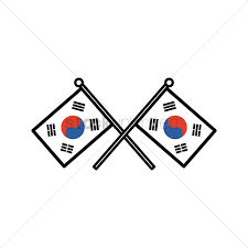 South Korea Flag South Korea Flag Vector Image 2014952 Stockunlimited