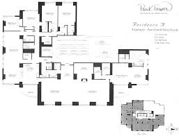 park tower chicago floor plans 800 n michigan ave
