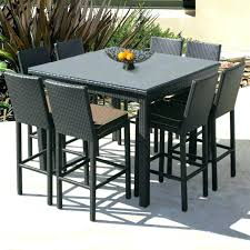 Bar Height Patio Set With Swivel Chairs Bar Height Patio Set With Swivel Chairs Medium Size Of Height