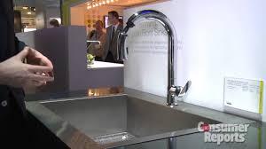 sensate touchless kitchen faucet kohler faucet kohler simplice