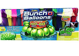 bunch balloons zuru bunch o balloons fill in 60 seconds 350 water balloons 20