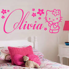 wall decoration hello kitty wall decal lovely home decoration