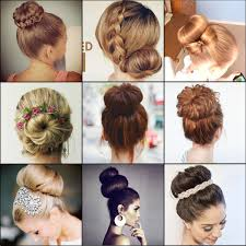donut hair bun qy black color hair mesh chignon donut to make