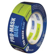 intertape polymer group 1 88 in x 60 yds promask blue painter u0027s