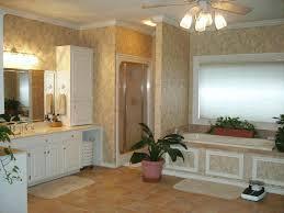 bathroom ideas modern two handles tub faucet metal vanity frame