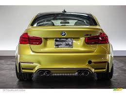 Bmw M3 Yellow 2016 - 2016 austin yellow metallic bmw m3 sedan 112772880 photo 4
