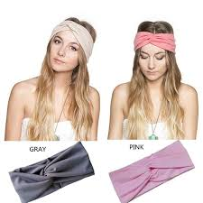 korean headband 2017 korea cross knot wrap candy colored hair band