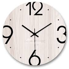 best wall clocks wall clocks round shaped nordic wood simple modern hanging