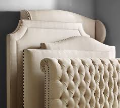 Nailhead Upholstered Headboard Upholstered Headboard Nailhead Upholstered Headboard West Elm