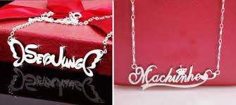 Custom Necklace Name Necklace Customized Design The Necklace