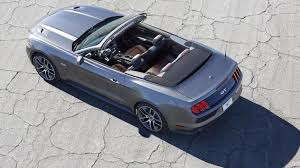 mustang convertible trunk ford improves top design on its 2015 mustang convertible autoweek