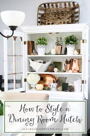 Dining Room Hutches Styles How To Style A Dining Room Hutch Dining Room Hutch Room And