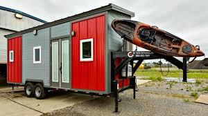 Tiny Home Images by Tiny House On Wheels Gooseneck Trailer Custom Kayak Rack Warm
