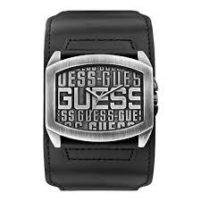 montre guess bracelet cuir images Guess montre quartz w0360g1 homme noir tendance achat vente jpg