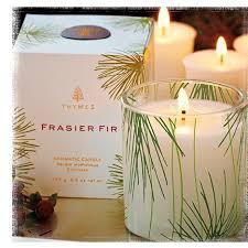 thymes frasier fir thymes frasier fir pine needle candle 6 5 oz
