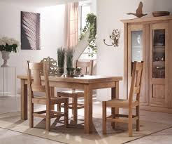 french country oak dining table extending flip top 85 x170cm