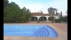 albatera 3 bed detached villa with pool kitchen bbq u0026 garage