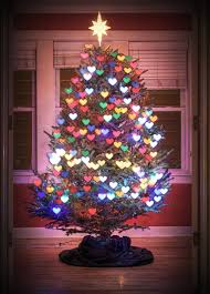 heart shaped christmas lights heart shaped bokeh or how to make your tree look like this ed