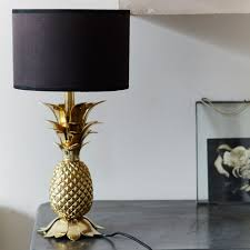 pineapple gold table lamps gold table lamps ideas u2013 modern wall