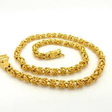 gold filled necklace images 2018 hip hop style 24k solid yellow gold filled chain necklace jpg