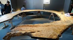 tree ring table inhabitat green design innovation