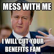 Fam Memes - mess with me i will cut your benefits fam misc quickmeme