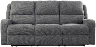 Power Reclining Sofa Signature Design By Krismen Contemporary Power Reclining