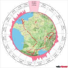 Tour De France Map by Tour De France 2016 Stages Veloviewer