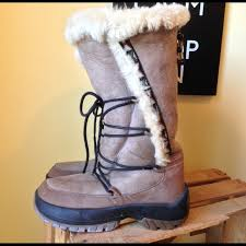 womens shearling boots size 11 67 ulu boots ulu seona shearling boots size 11 from