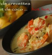 cuisine au lait de coco curry de crevettes au lait de coco piment citronnelle salade