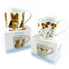 puppy fine china mug cup collection gift boxed present dogs 2