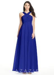 royal blue chiffon bridesmaid dresses royal blue bridesmaid dresses royal blue gowns azazie
