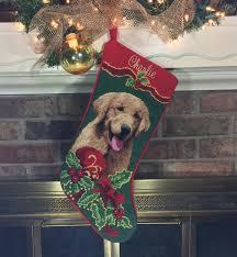 golden retriever dog stocking personalized golden retriever
